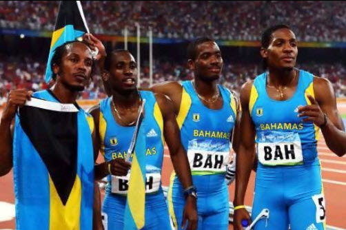 Team Bahamas Wins Gold In The Men S 4x4 Relay The