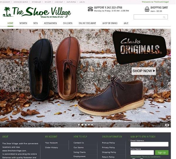 Roberts Shoe Store Bahamas