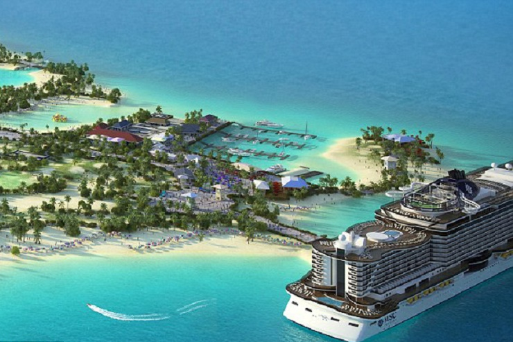 Cruise Company To Create First Ever Marine Reserve Island