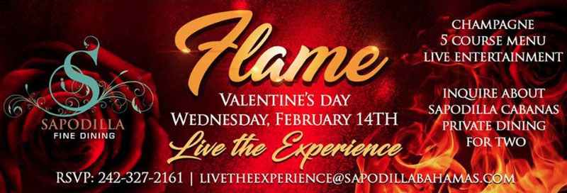 Flame Hosted by Sapodilla Restaurant