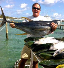 Harbourside marine weekly fishing report the bahamas for Freeport fishing report