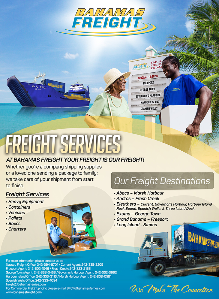 Bahamas Ferries Freight