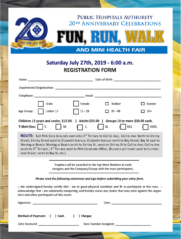 PHA Fun Run Walk & Mini Fair
