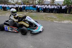 Formula Kart Stars Team School Visit