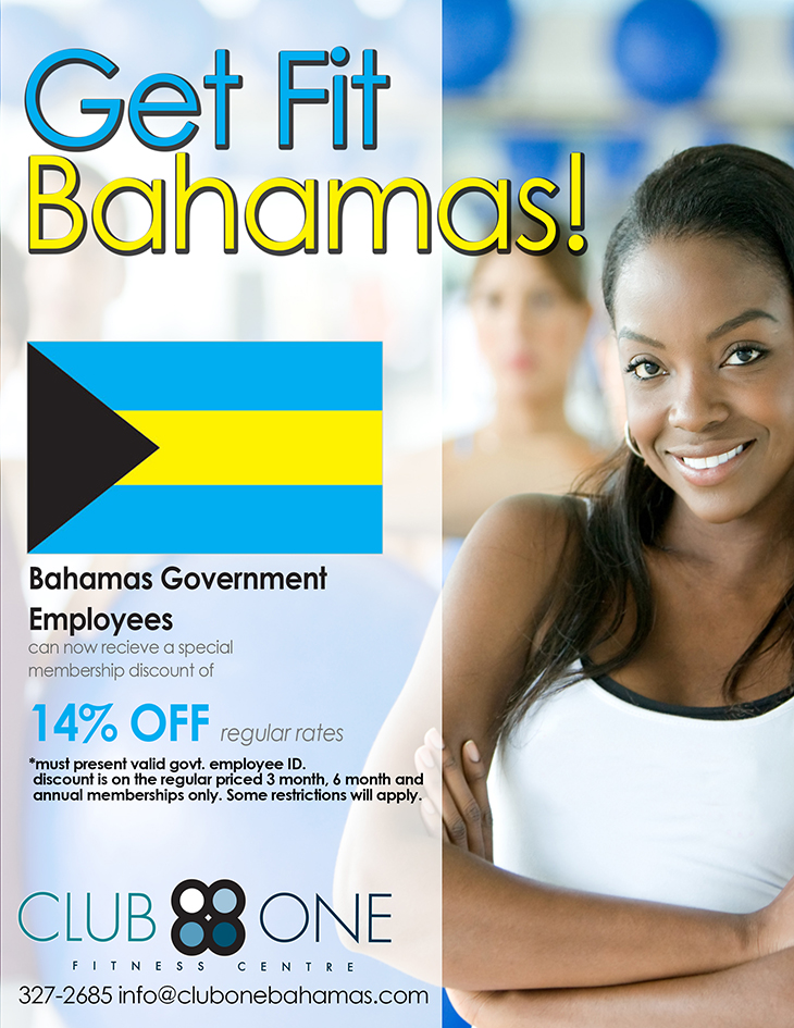 Get Fit Bahamas at Club One Fitness Centre