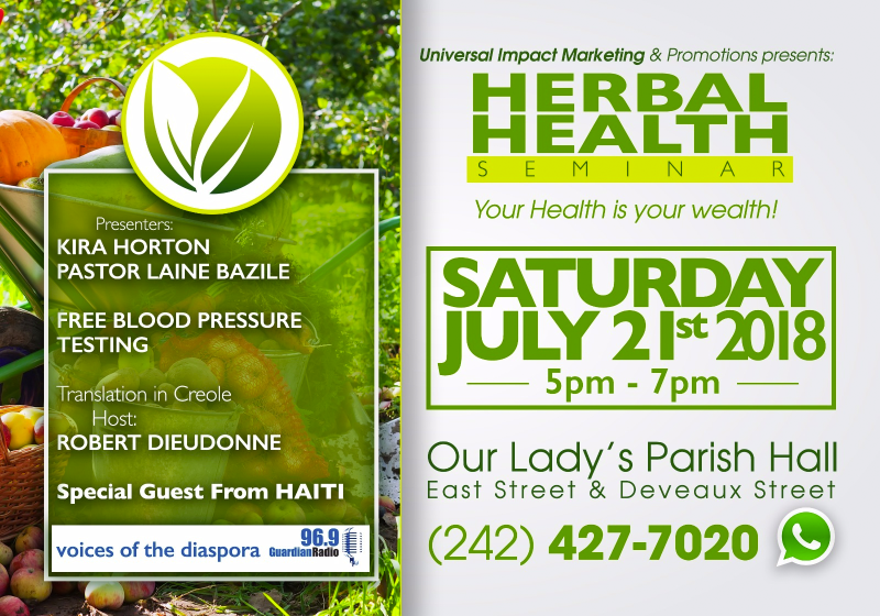 Herbal Health Seminar Presented by Universal Impact Marketing & Promotions