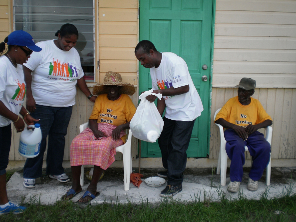 Bank Of The Bahamas Partners Send Huge Relief Bundles To