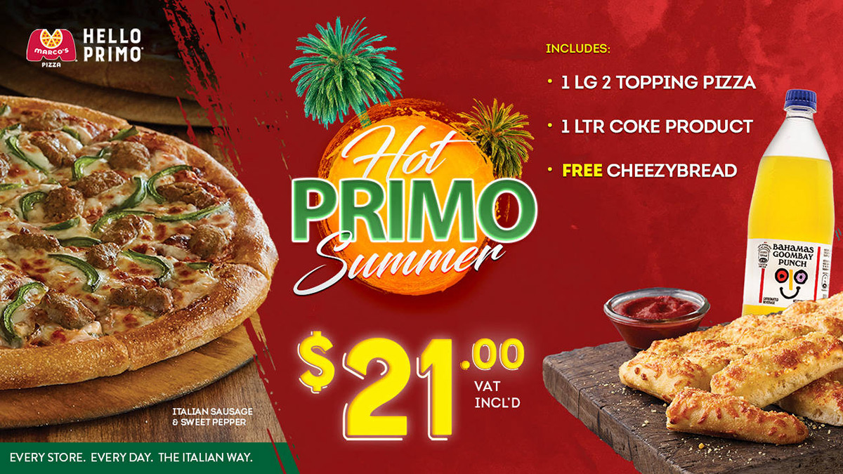 Hot Primo Summer With Marcos. $21.00