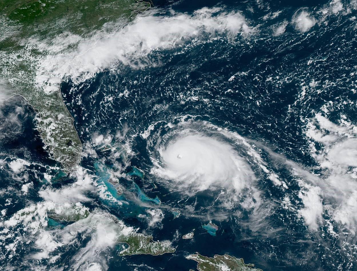 Hurricane Bahamas 2021