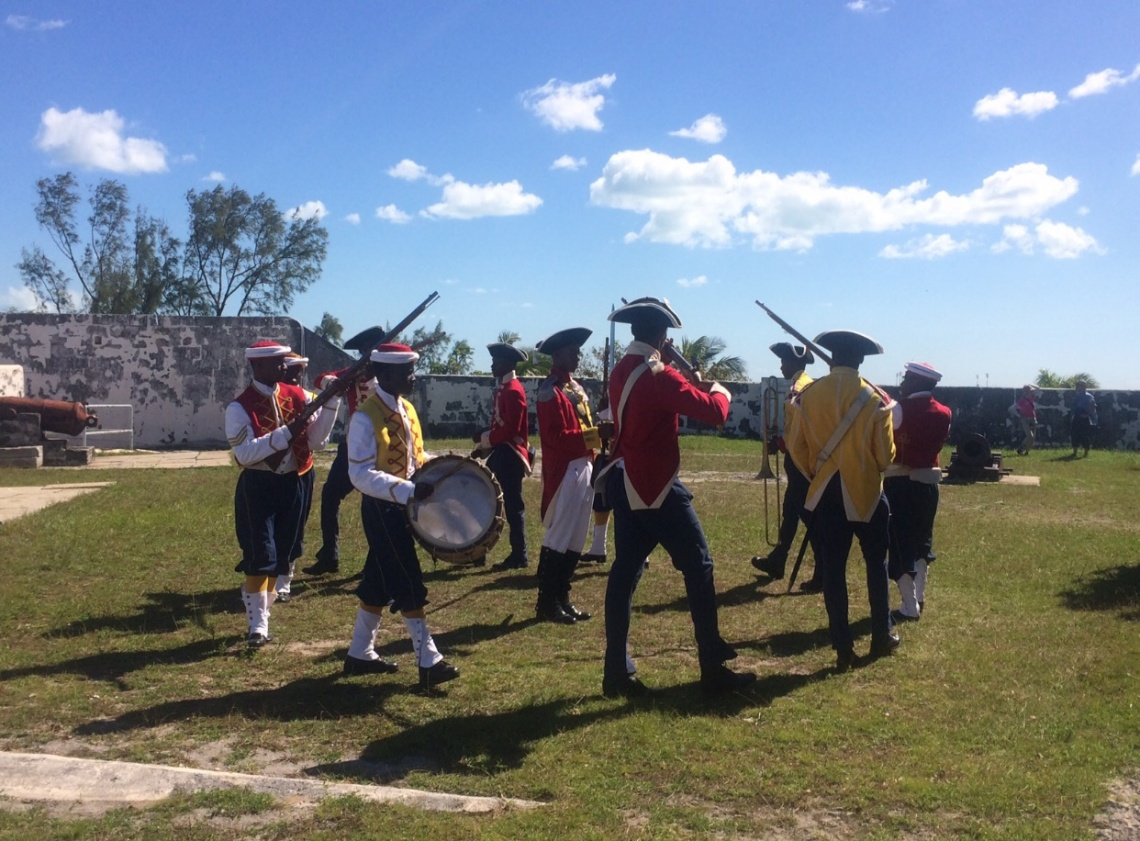 Living History At Fort Charlotte