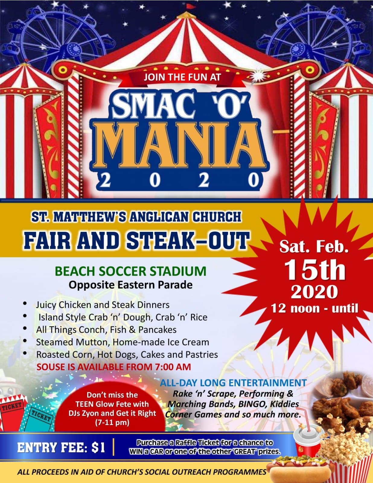 St. Matthew's Anglican Church Fete, Fair and Steak Out