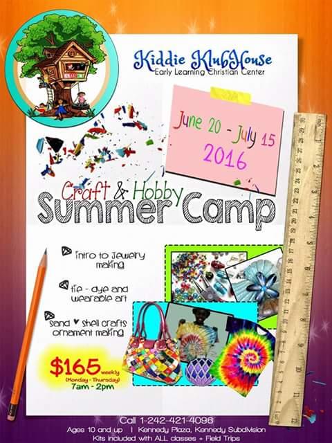 Craft & Hobby Summer Camp @ Kiddie Klubhouse