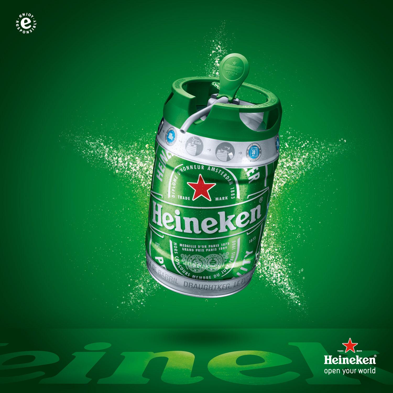 The New Heineken Draught Keg - Bahamas