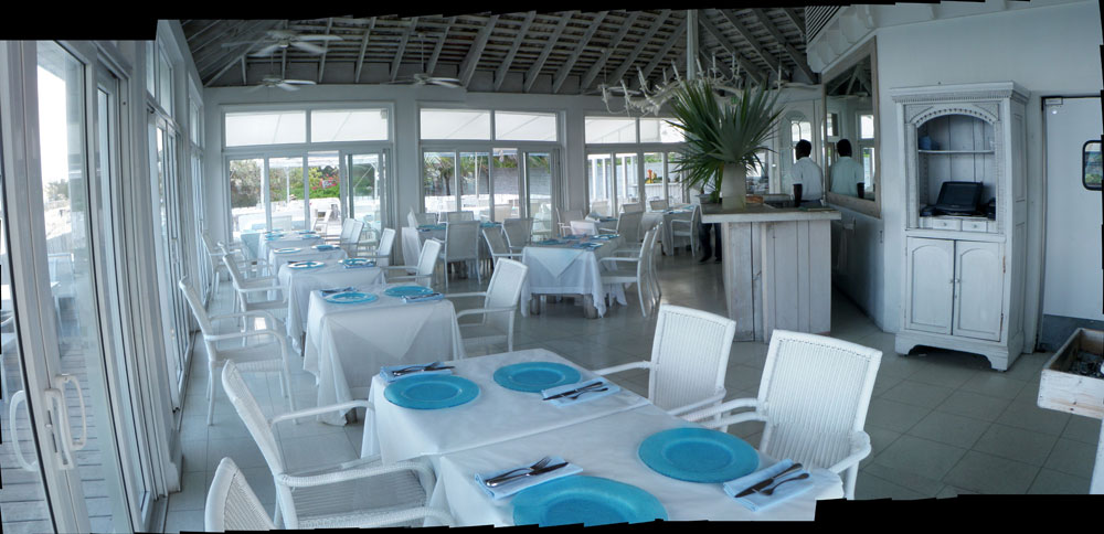 Beach Club Cafe Inside