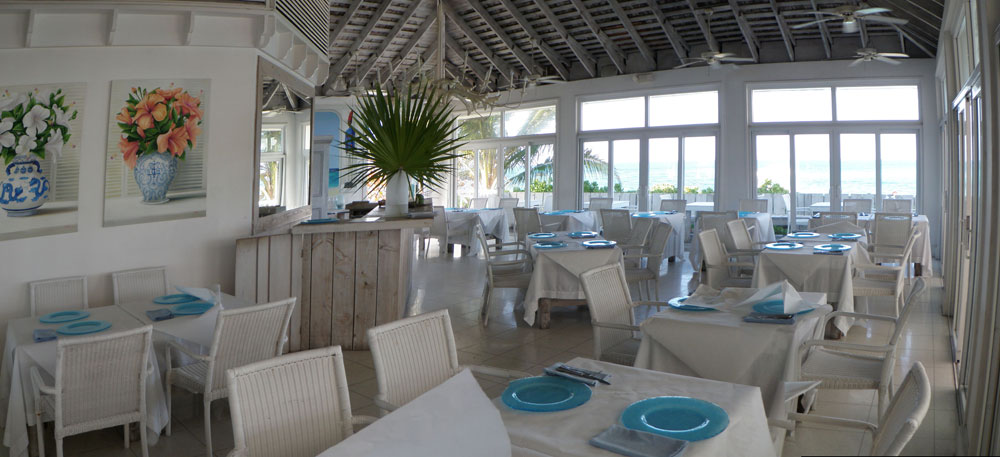 Beach Club Cafe Inside View