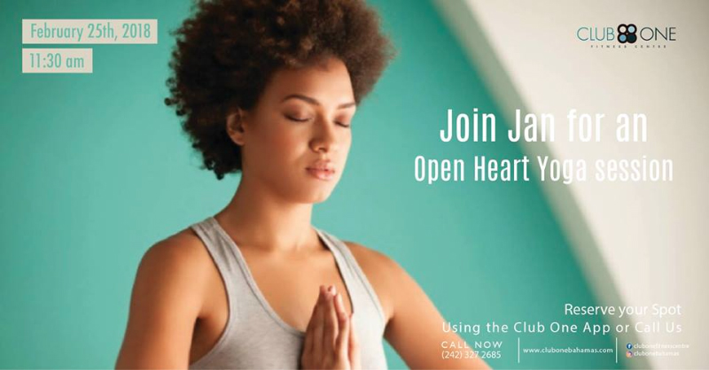Open Heart Yoga Session with Jan