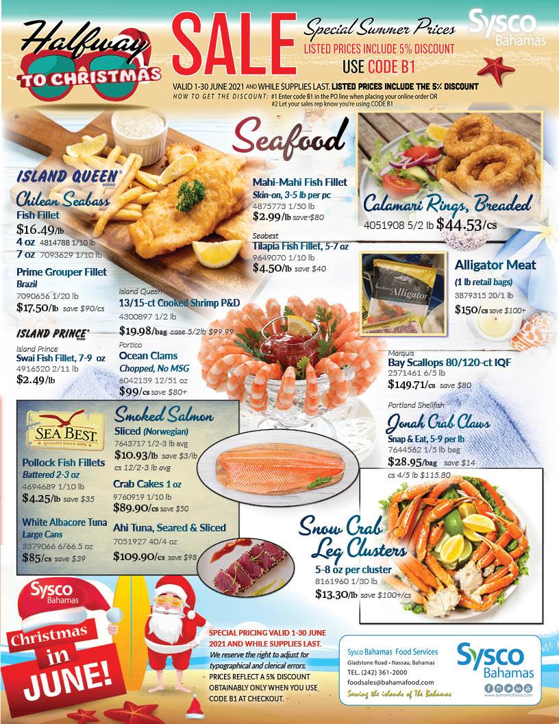 June Specials at Sysco Bahamas