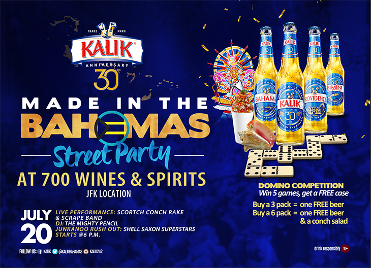 Made In The Bahamas Street Party Presented by Kalik