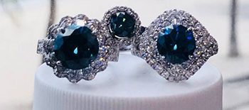 Blue Diamond Solitaires