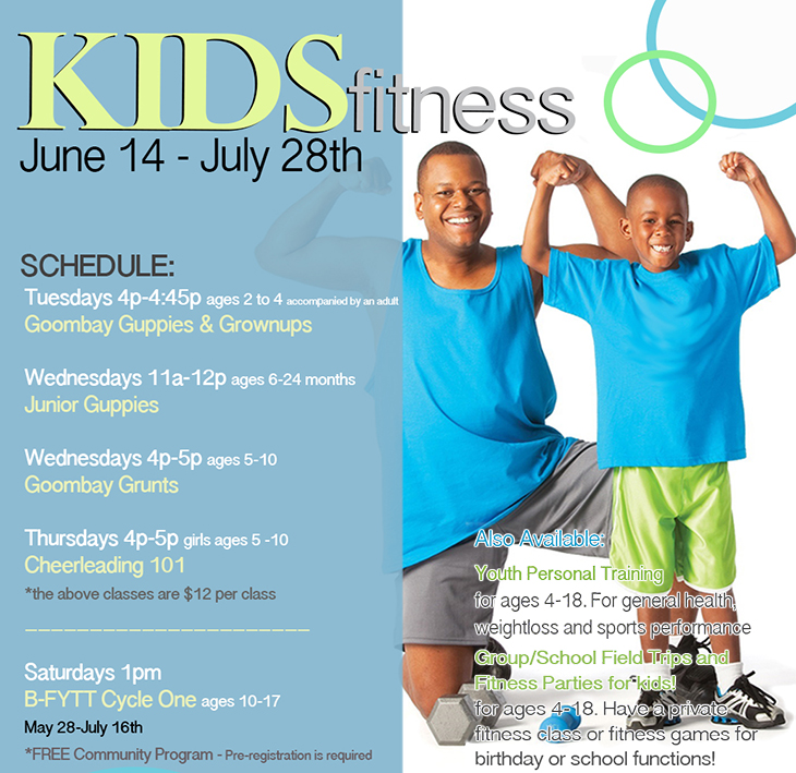 KIDS Fitness @ Club One Fitness Centre