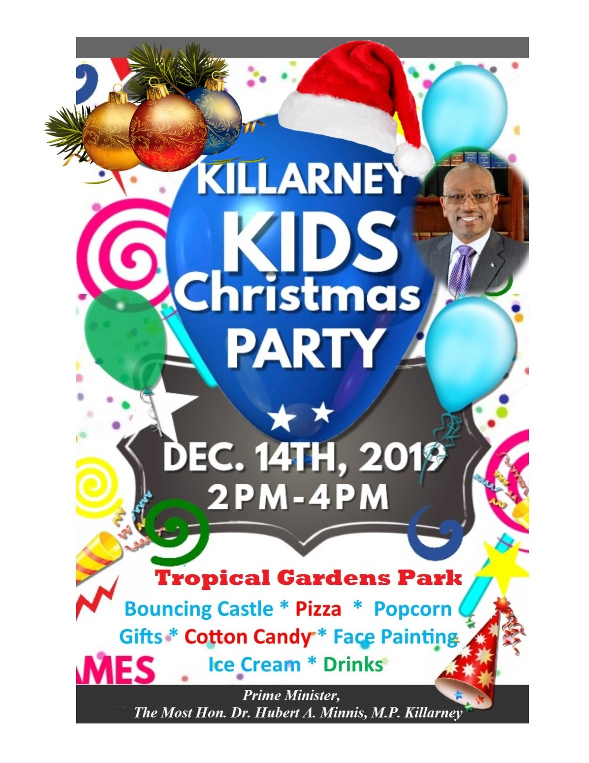 Killarney Kids Christmas Party