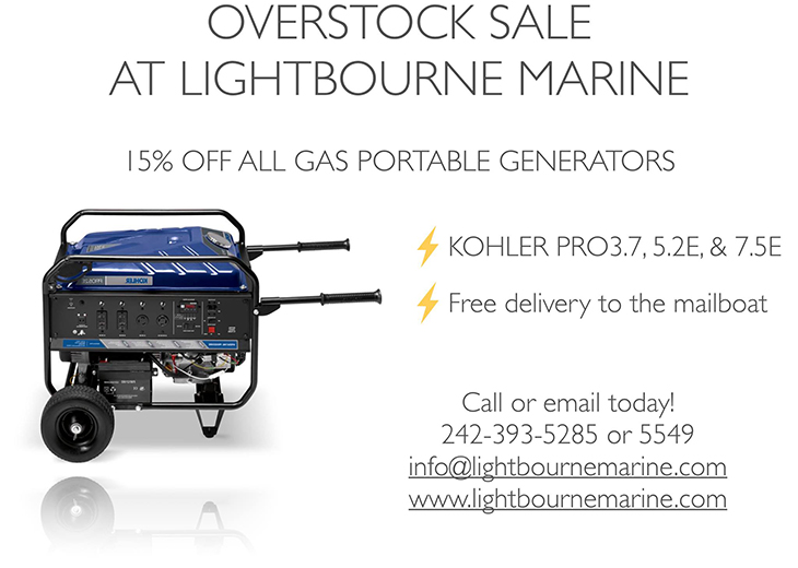 Lightbourne Marine | Kohler Portable Gas Generators!