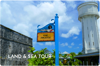 DISCOVER NASSAU LAND & SEA TOUR