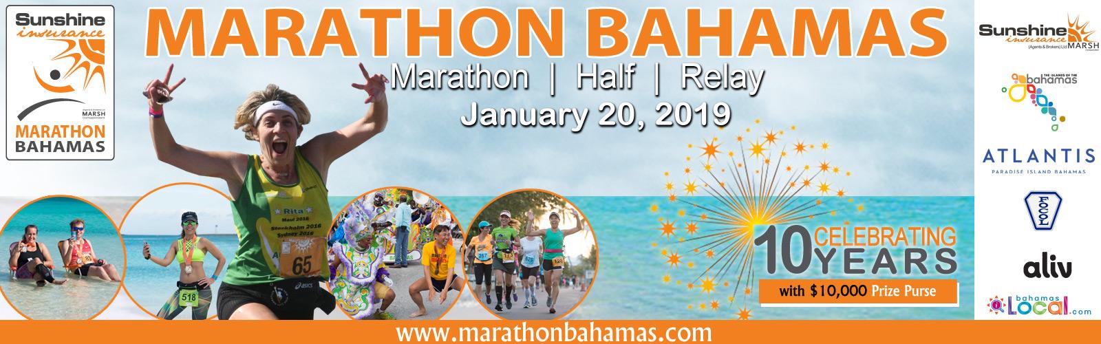 Sunshine Insurance Marathon Bahamas Race Weekend