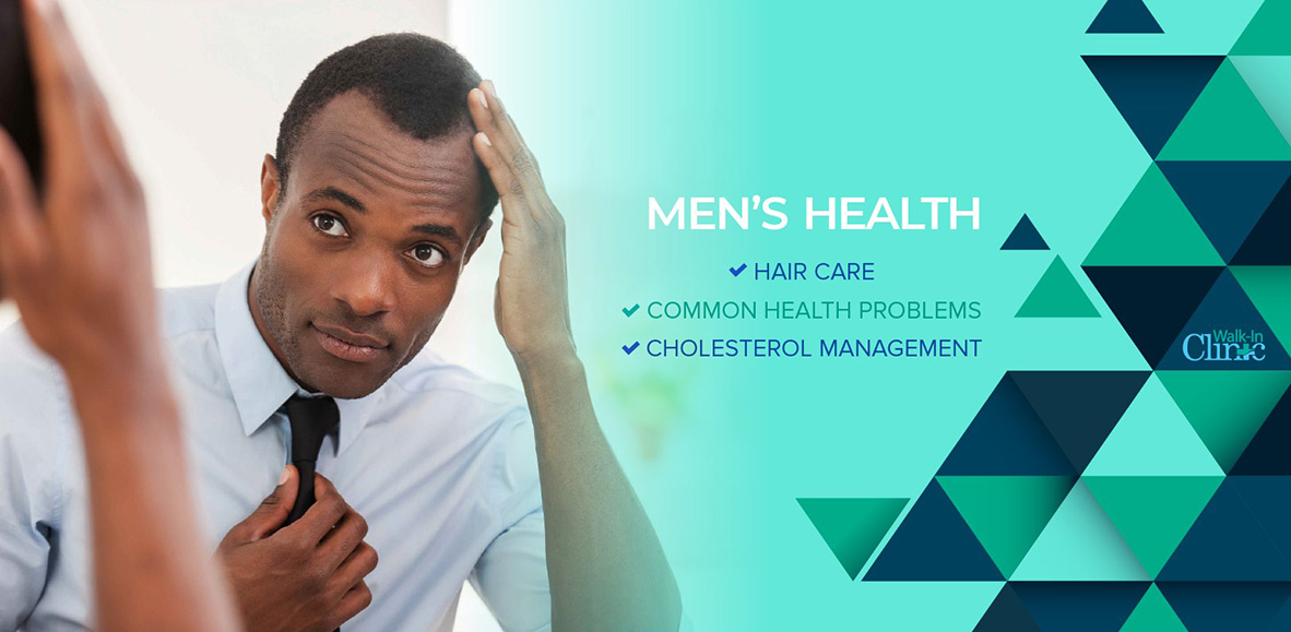 June is Men's Health Month, dedicated to the awareness of men's health issues.