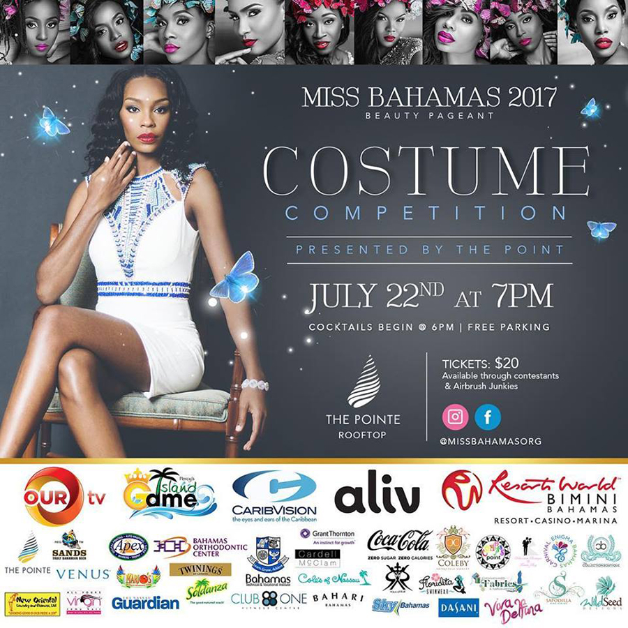 Miss Bahamas 2017 Beauty Pageant Costume Contest