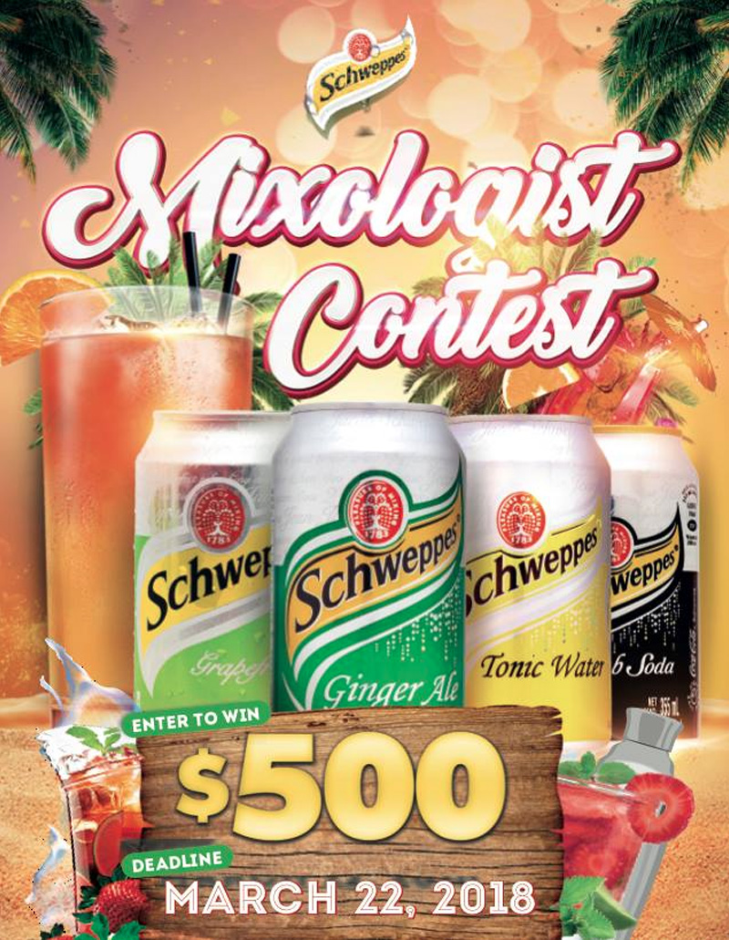 Mixologist Contest Hosted By Caribbean Bottling Co. Bahamas