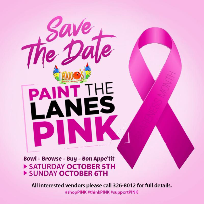 PAINT THE LANES PINK
