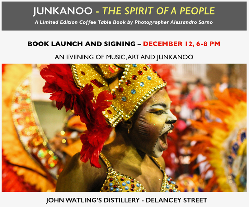 The Official Launch and Book Signing of Junkanoo -The Spirit of a People, by The Lonesome Photographer