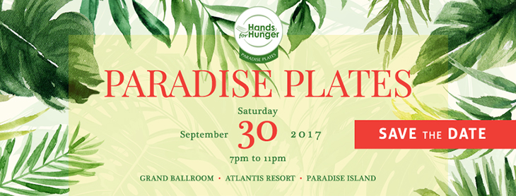 The countdown to September 30th is on! Paradise Plates