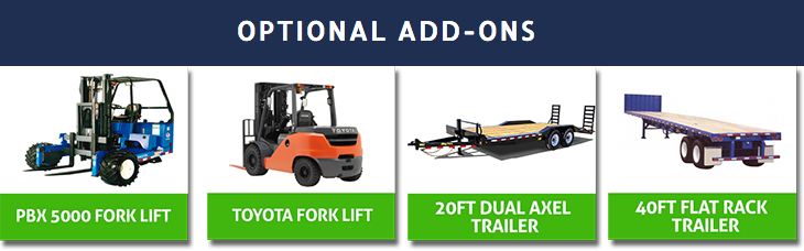 TRUCK RENTAL | OPTIONAL ADD-ONS