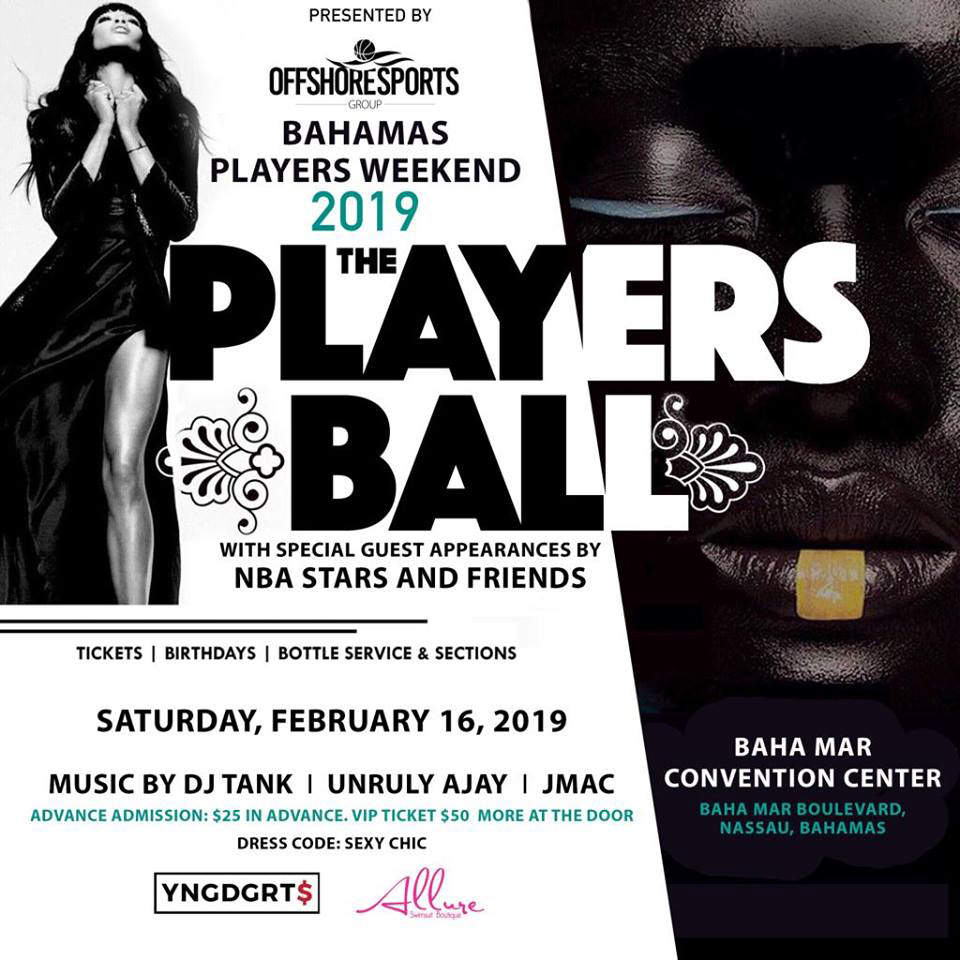 Bahamas Players Weekend 2019 The Players Ball