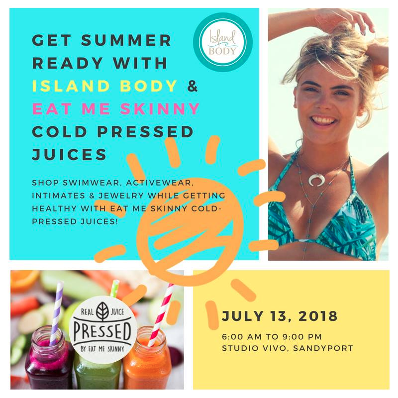 Pop Up Shop!! Swimsuits, Activewear,Jewelry And Intimates Hosted By Island Body
