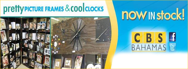 Now #InStock we have Pretty Picture Frames and Cool Clocks!