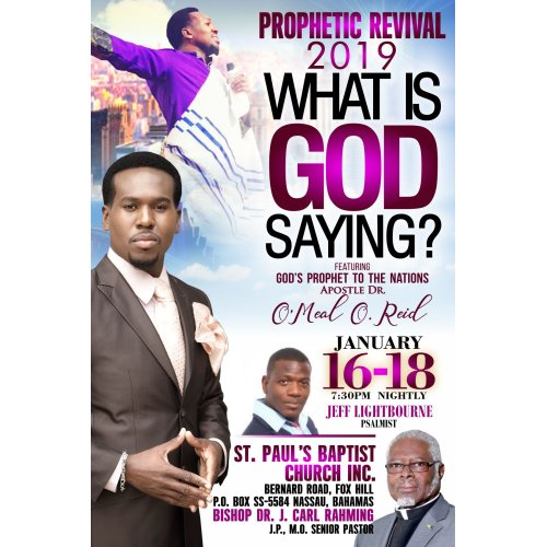 Prophetic Revival 2019 (What Is God Saying?)