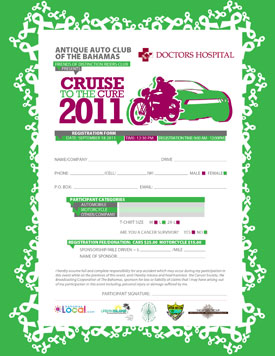 Cruise To The Cure Registration Form 2011