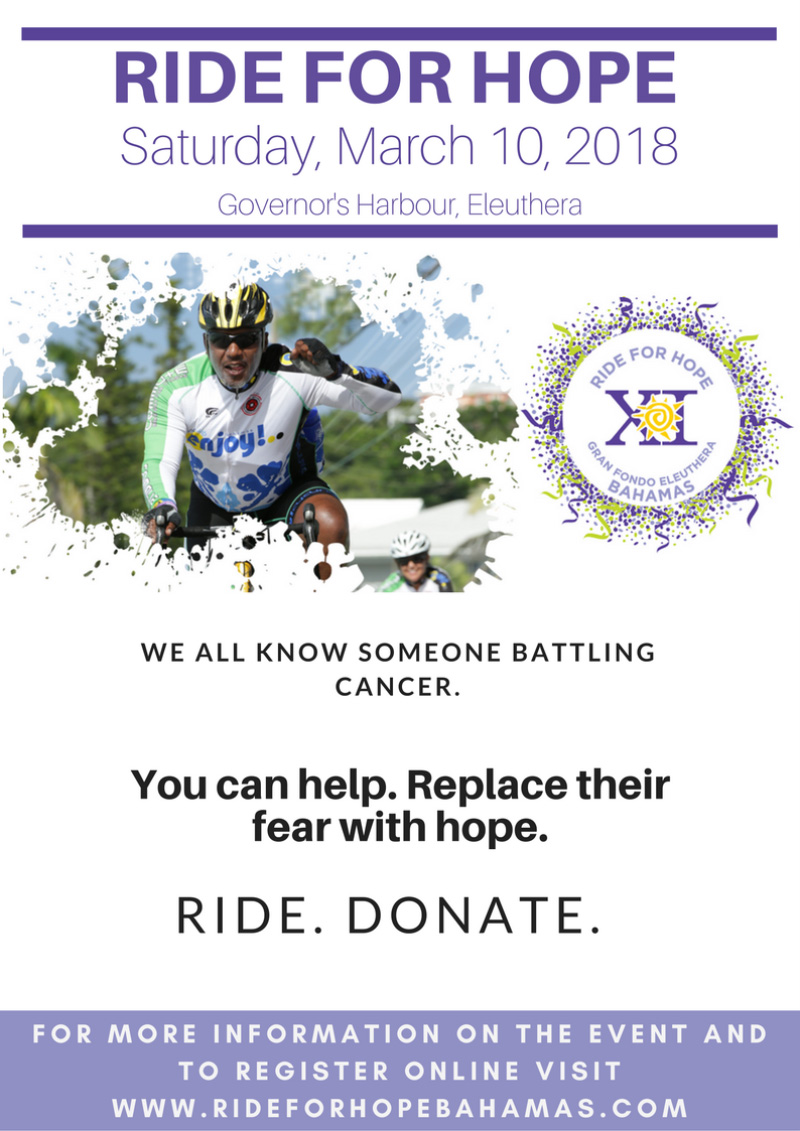 Ride For Hope | Govenors Harbour Eleuthera