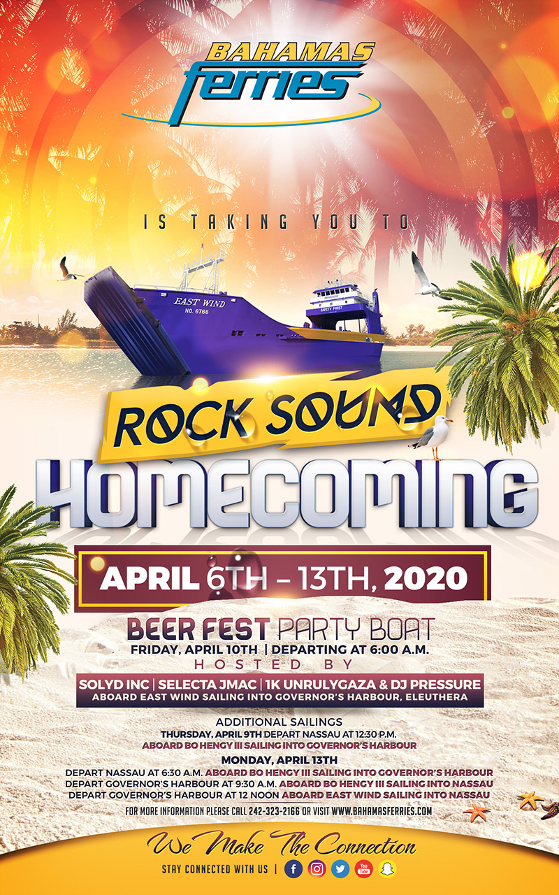 Bahamas Ferries Rock Sound Homecoming