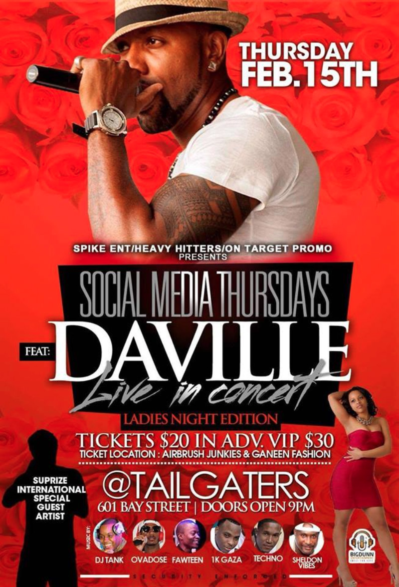 Social Media Thursdays the Ladies Edition feat. Da'Ville