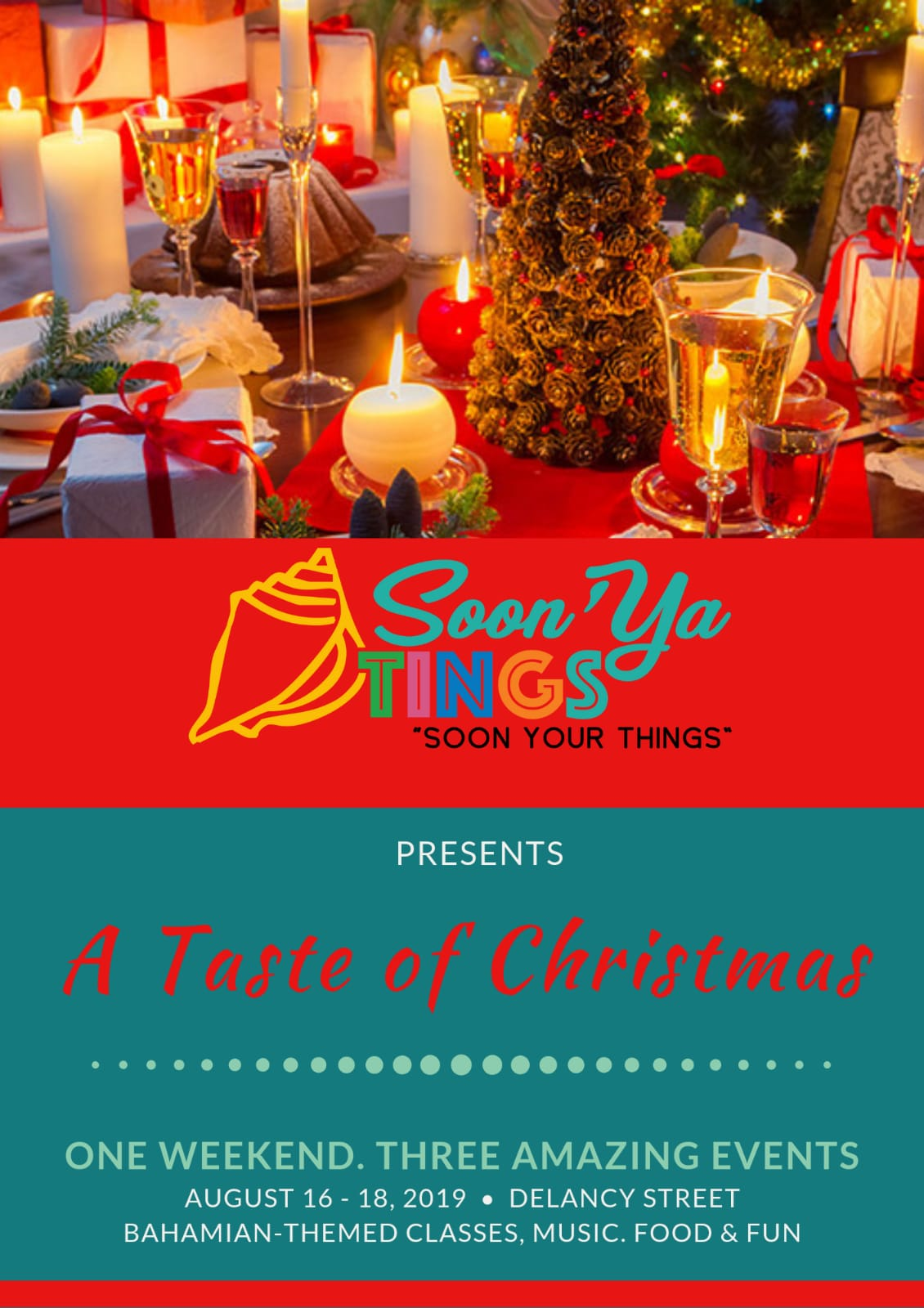 Soon Ya Tings - A Taste of Christmas