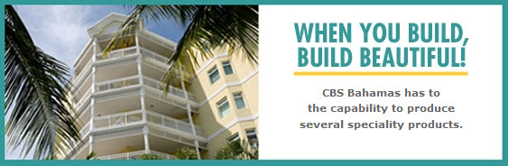 CBS Bahamas has to the capability to produce several specialty products.