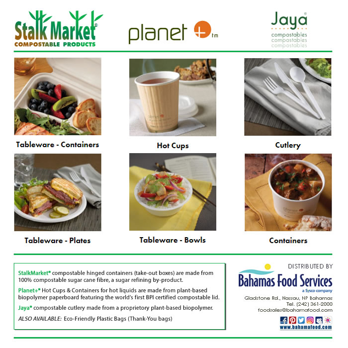 Bahamas Food Services Stalk Market Compostable Products