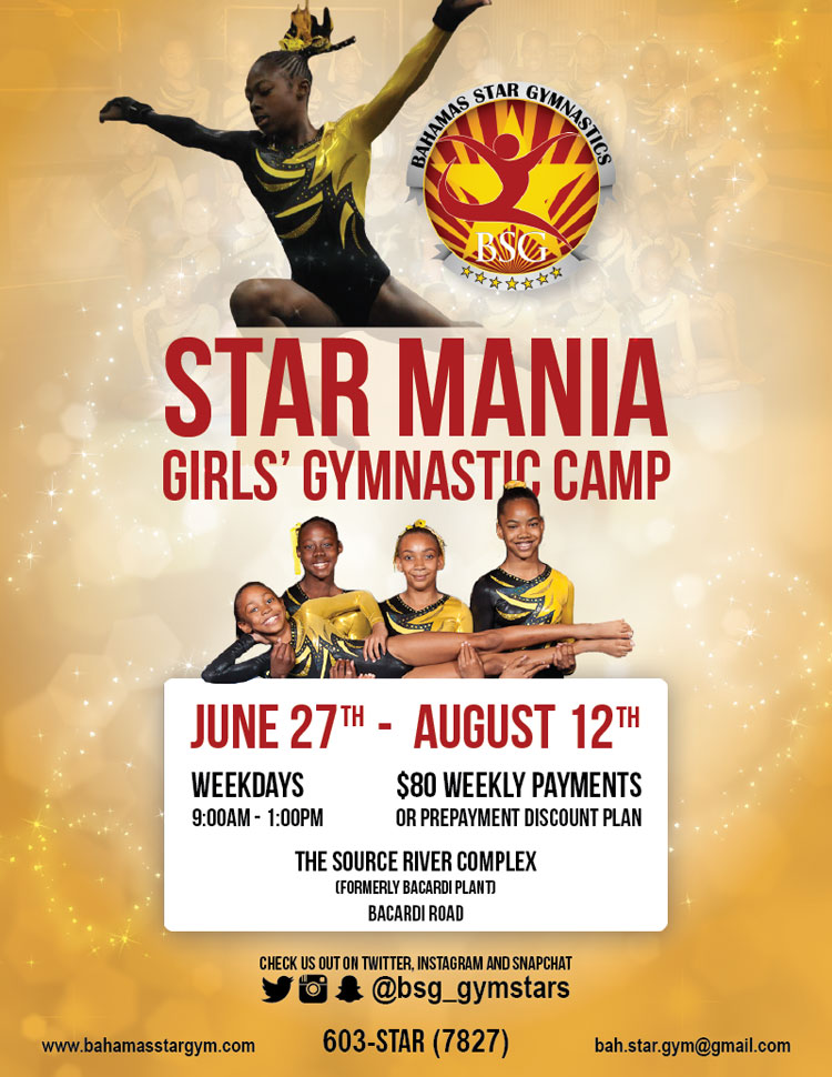 Star Mania Girls' Gymnastic Camp
