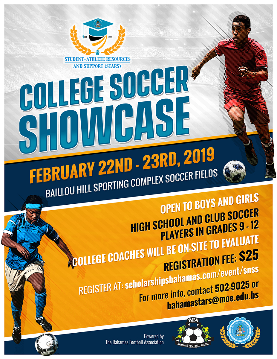 College Soccer Showcase Powered by The Bahamas Football Association