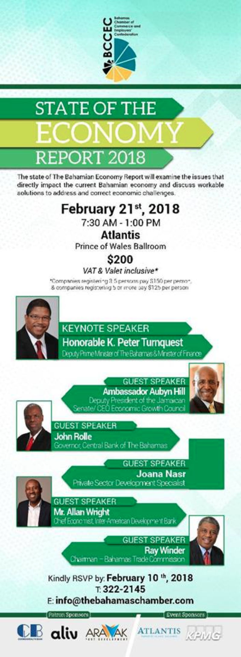 State of Economy 2018 Hosted by Bahamas Chamber of Commerce