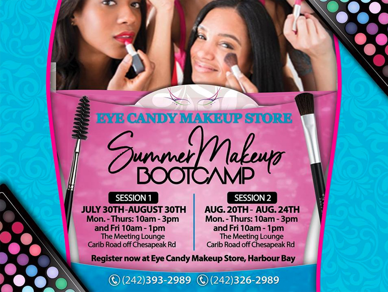 Eye Candy Makeup Store Summer Camp 2018